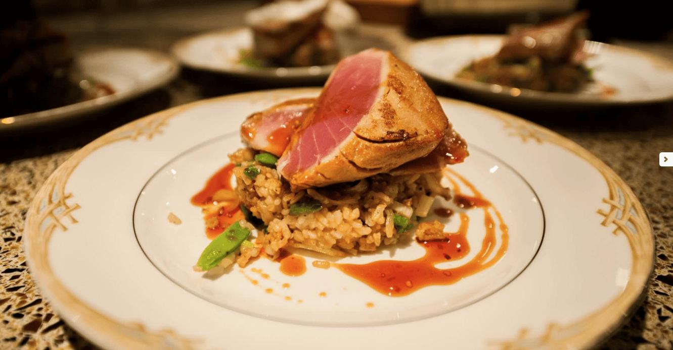 Cuisine on St. Thomas Mega Yacht Charter