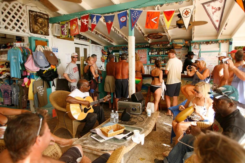 Best Beach Bar in BVI