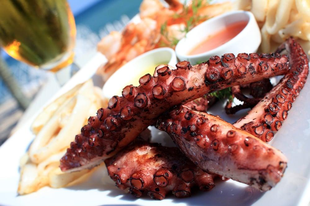 Cuisine on Greece Catamaran Charters