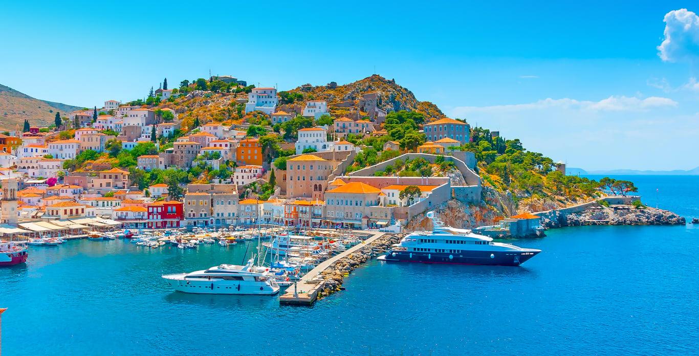 Greece Motor Yacht Charters Dockside