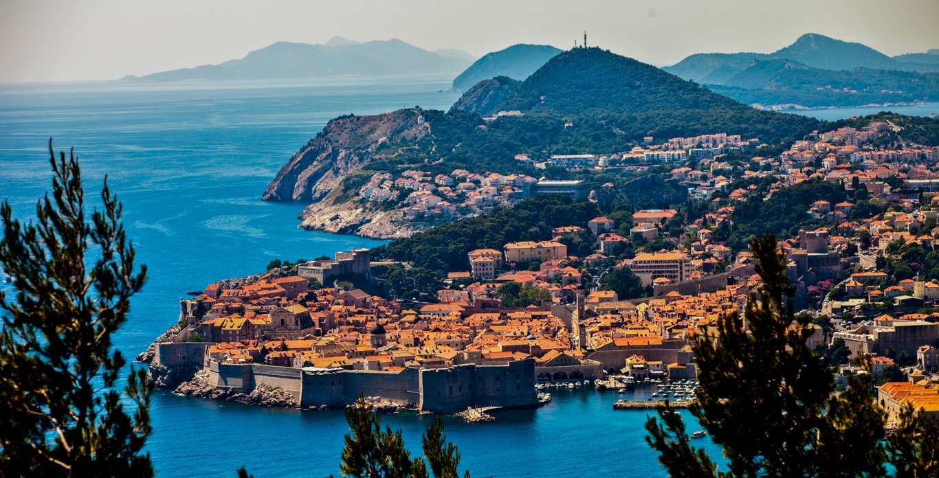 Areal view of Dubrovnik, Croatia - Navilux Yacht Charters