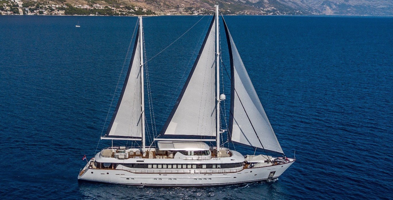 Luxury Yacht Charter Croatia– Aiaxaia, the New Reigning Queen