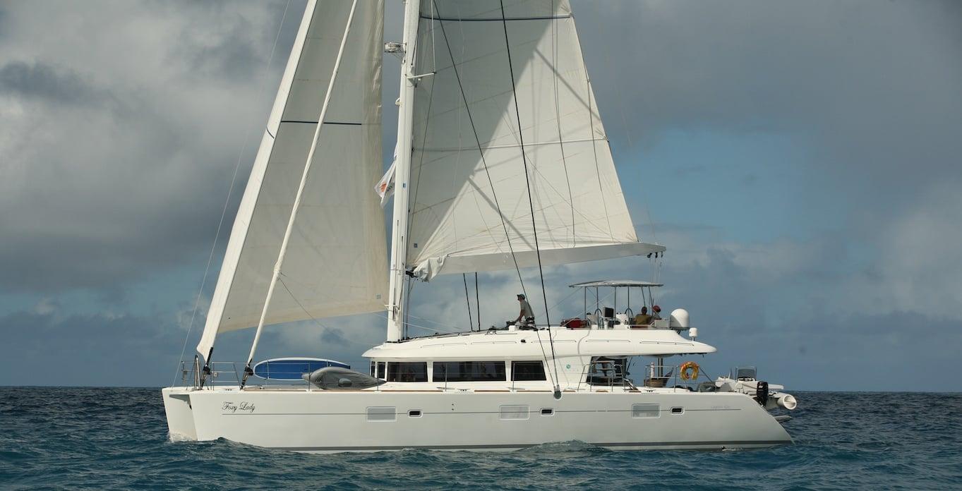 Foxy Lady - Virgin Islands Post Hurricane Itinerary