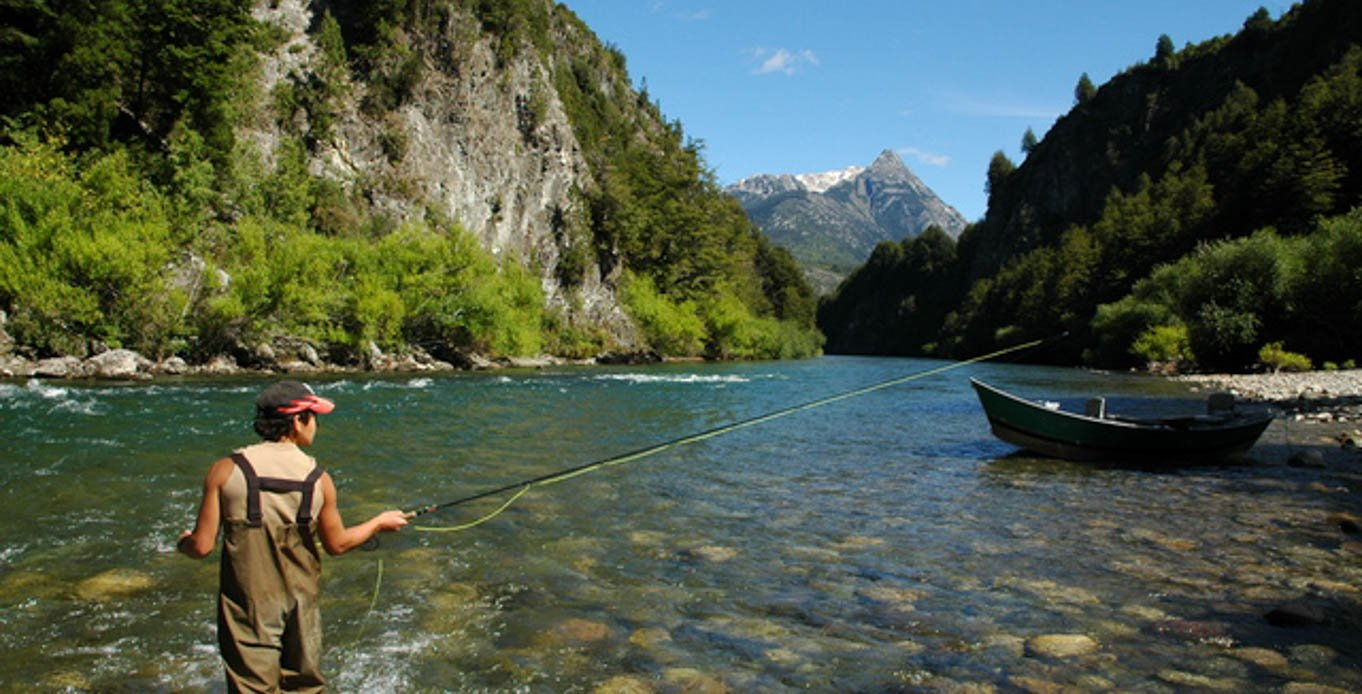 Fishing on a Patagonia Yacht Charter