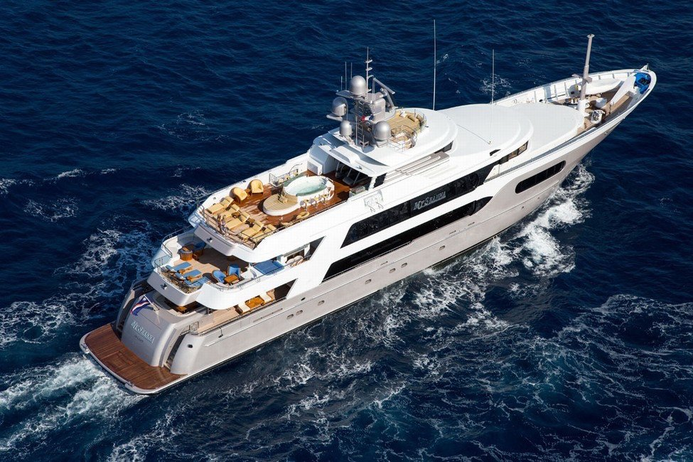 Charter a superyacht in the Med for both the luxury yacht wedding AND the honeymoon