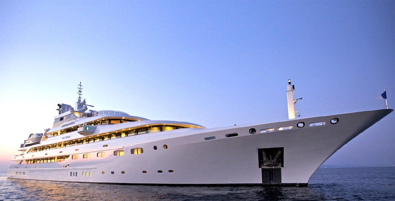 O'MEGA Yacht Charter - Caribbean and Mediterranean