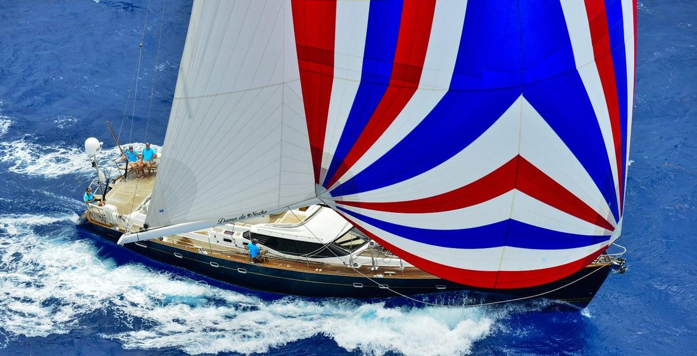 New England Sailboat Charter – Dama de Noche