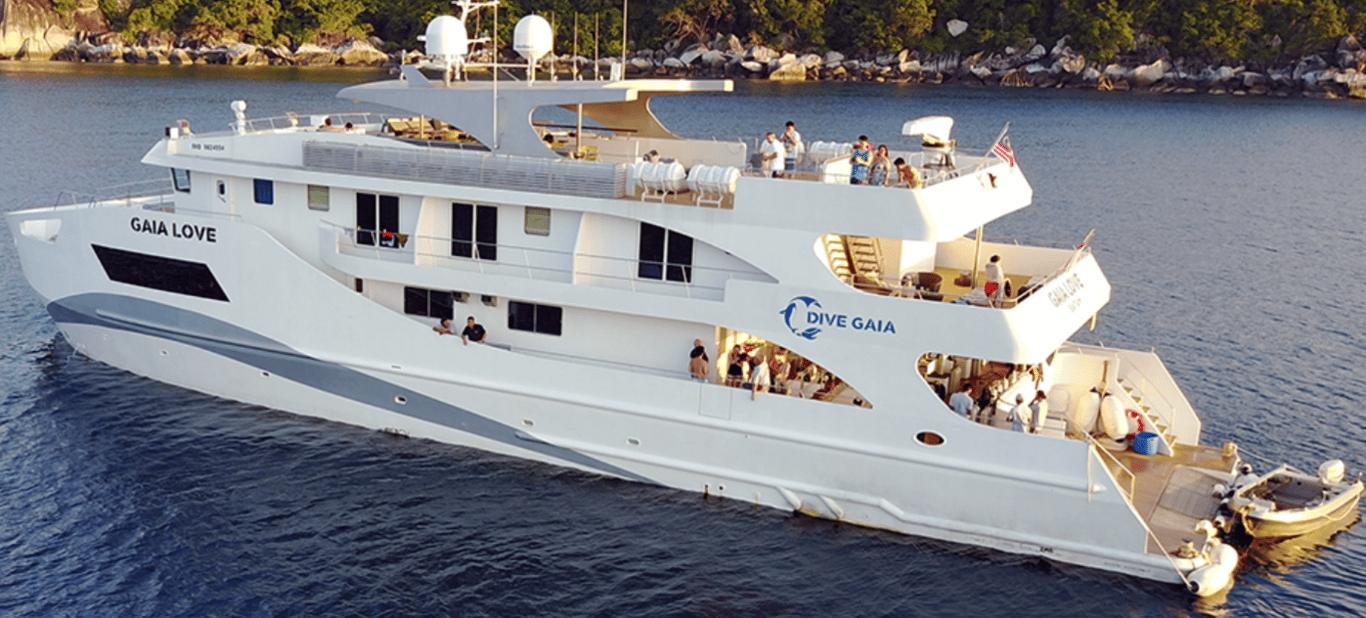Gaia Love - Indonesia's Newest Luxury Liveabaord