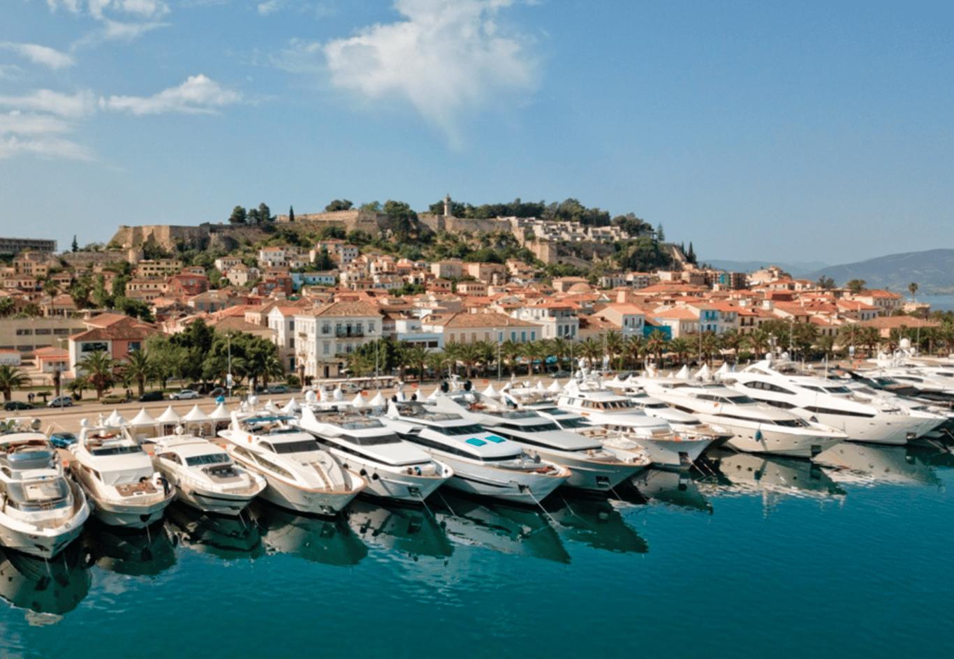 Greece Motor Yacht Charters in Nafplion