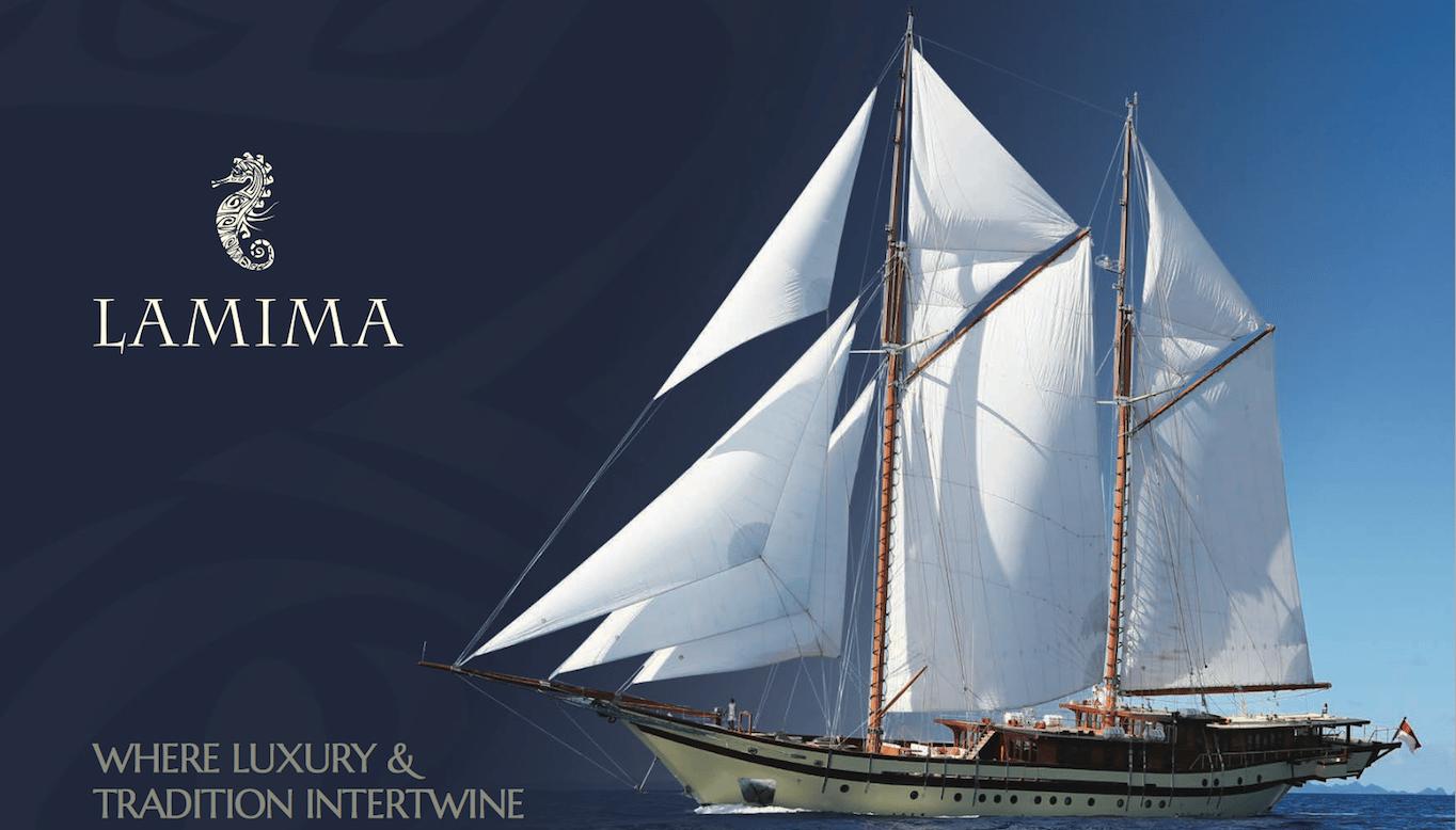 Indonesia Luxury Yacht Charter on Phinisi Lamima