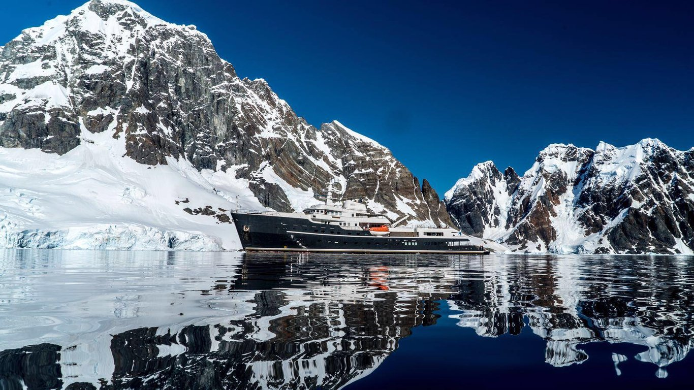 Legend - largest ice-breaking expedition yacht cruise