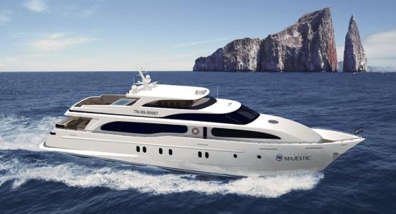 Grand Majestic Galapagos Luxury Yacht Charter