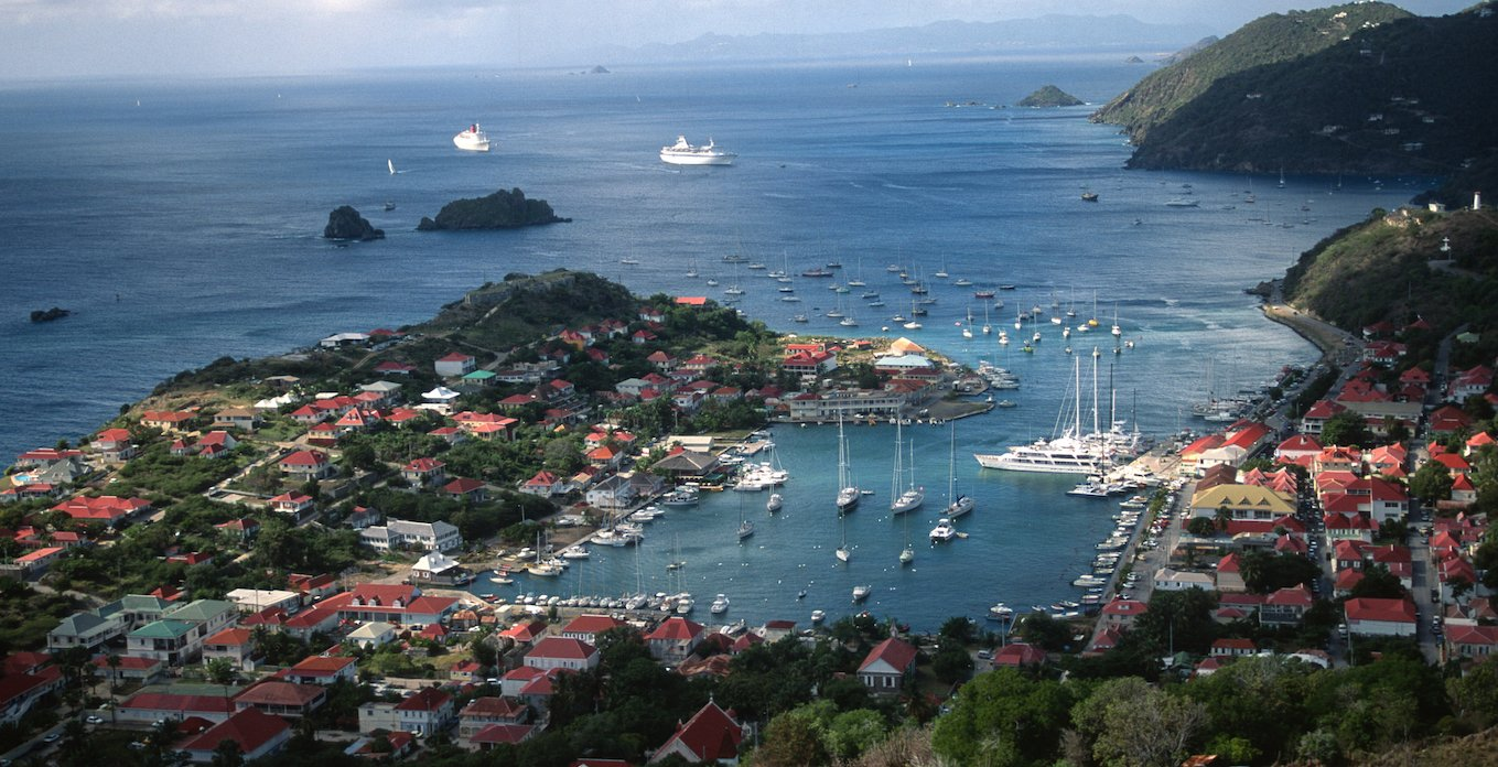 St. Barts Yacht Charter from Gustavia