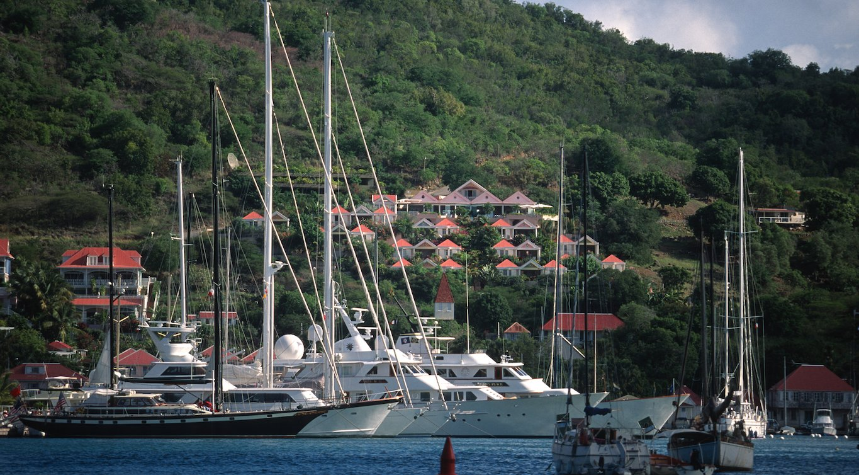St. Barth's Yacht Charetr Gustavia