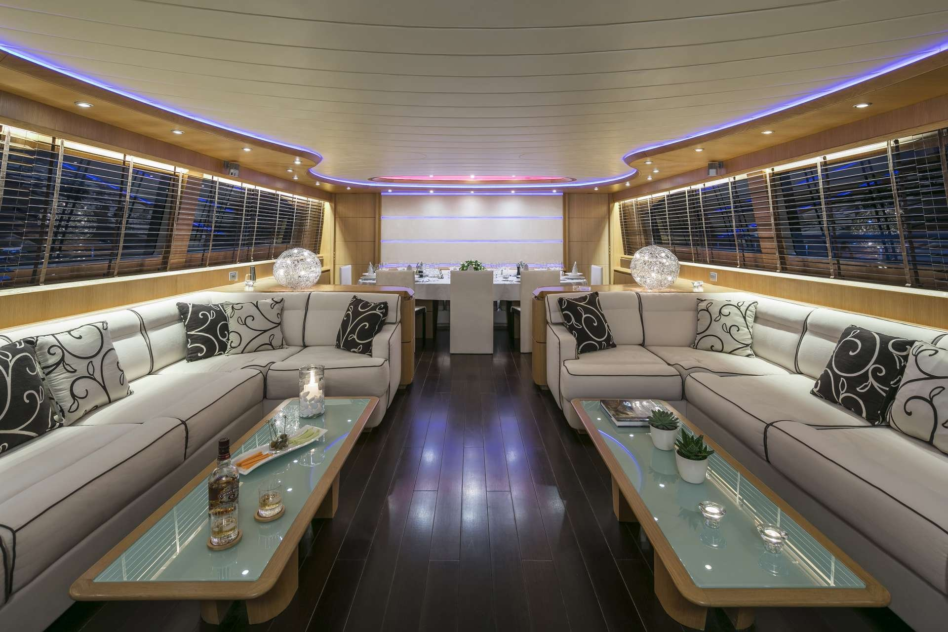Motor Yacht 'PARIS A' Salon, 12 PAX, 6 Crew, 115.00 Ft, 35.06 Meters, Built 2009, Majora, Refit Year 2013