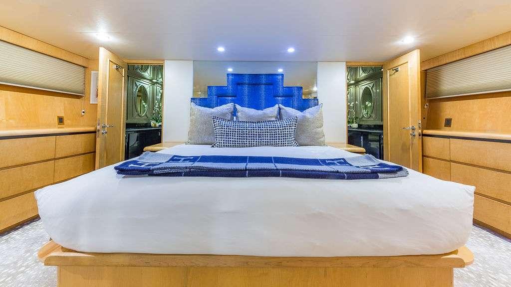 Motor Yacht 'ALEXANDRA JANE' Master Stateroom, 10 PAX, 4 Crew, 110.00 Ft, 33.00 Meters, Built 1995, Broward, Refit Year 2019
