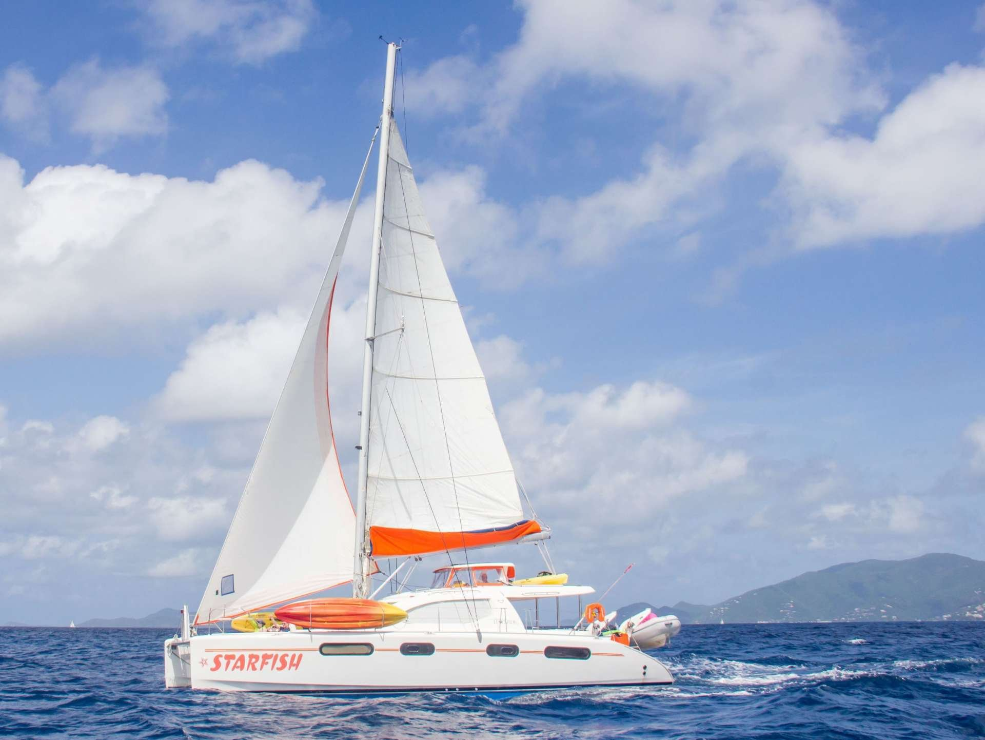 Catamaran Yacht 'STARFISH', 6 PAX, 2 Crew, 46.00 Ft, 14.00 Meters, Built 2008, Leopard, Refit Year 2019