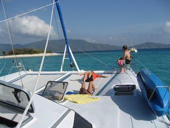Catamaran Yacht 'BREANKER' Pure relaxation, 8 PAX, 2 Crew, 55.00 Ft, 16.00 Meters, Built 1991, Simonis, Refit Year 2018