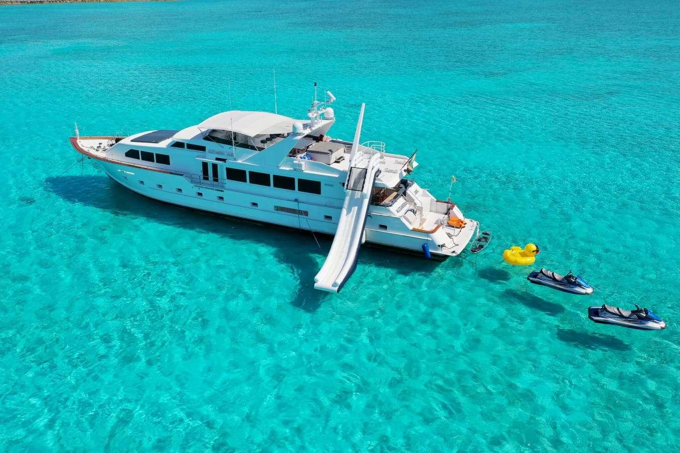 Motor Yacht 'ALEXANDRA JANE', 10 PAX, 4 Crew, 110.00 Ft, 33.00 Meters, Built 1995, Broward, Refit Year 2019