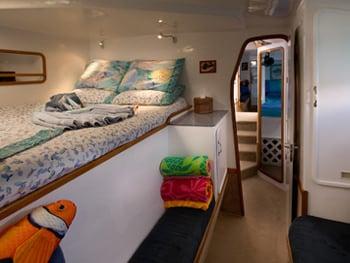 Catamaran Yacht 'BREANKER' En-Suite Guest Queen, 8 PAX, 2 Crew, 55.00 Ft, 16.00 Meters, Built 1991, Simonis, Refit Year 2018