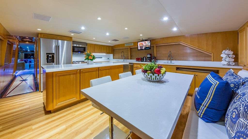 Motor Yacht 'ALEXANDRA JANE' Country Kitchen, 10 PAX, 4 Crew, 110.00 Ft, 33.00 Meters, Built 1995, Broward, Refit Year 2019