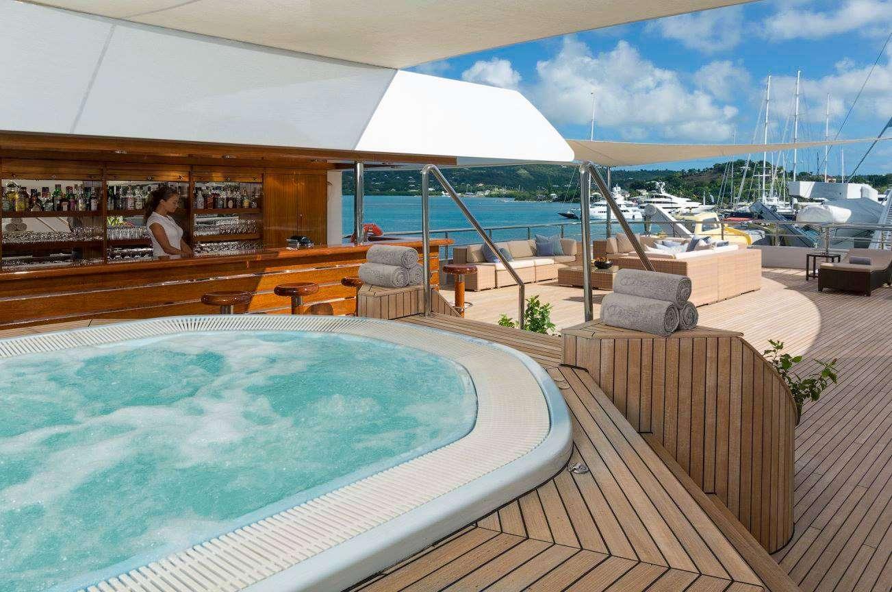 Motor Yacht 'LAUREN L' Jacuzzi, 40 PAX, 295.00 Ft, 90.00 Meters, Built 2002, Cassens Werft, Refit Year 2008/2015
