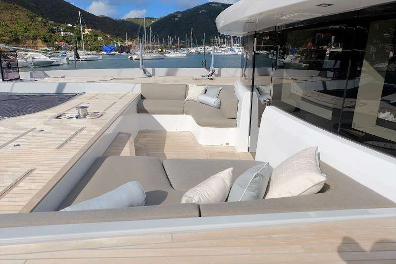 Catamaran Yacht 'TELLSTAR' Additional lounge area on the bow, 8 PAX, 4 Crew, 77.00 Ft, 23.00 Meters, Built 2019, Lagoon