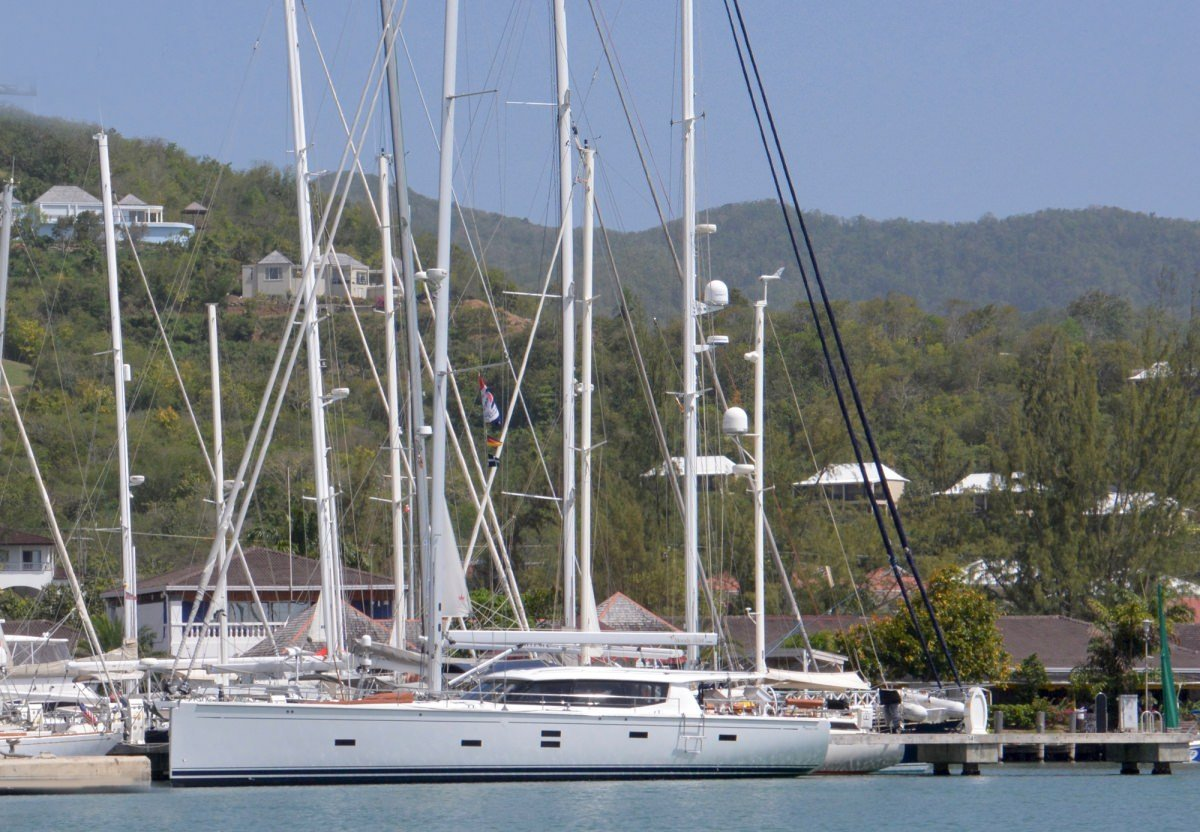 Sailing Yacht 'MOJEKA' Impressive sight at the dock, 6 PAX, 2 Crew, 56.00 Ft, 17.00 Meters, Built 2014, MOODY