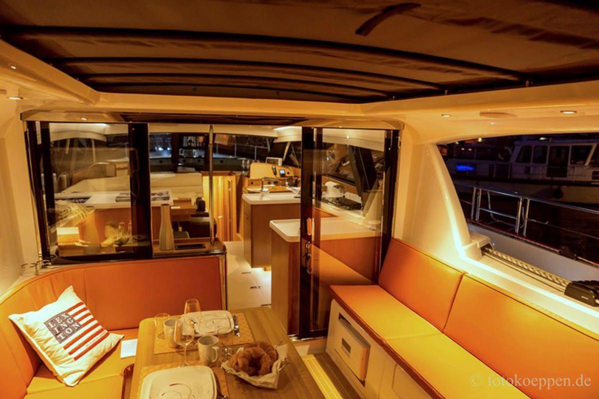 Sailing Yacht 'MOJEKA' Cockpit looking toward salon, 6 PAX, 2 Crew, 56.00 Ft, 17.00 Meters, Built 2014, MOODY
