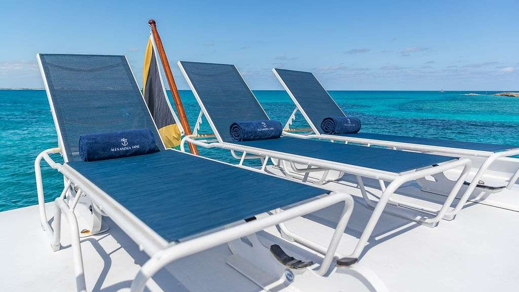Motor Yacht 'ALEXANDRA JANE' Flybridge Tanning, 10 PAX, 4 Crew, 110.00 Ft, 33.00 Meters, Built 1995, Broward, Refit Year 2019