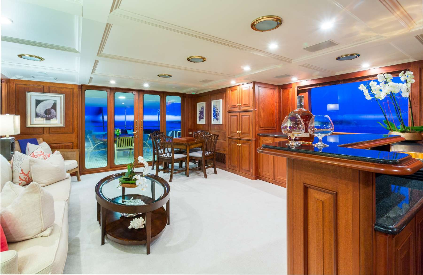 Motor Yacht 'LADY J' Skylounge, 12 PAX, 9 Crew, 142.00 Ft, 43.00 Meters, Built 1997, Palmer Johnson, Refit Year 2017