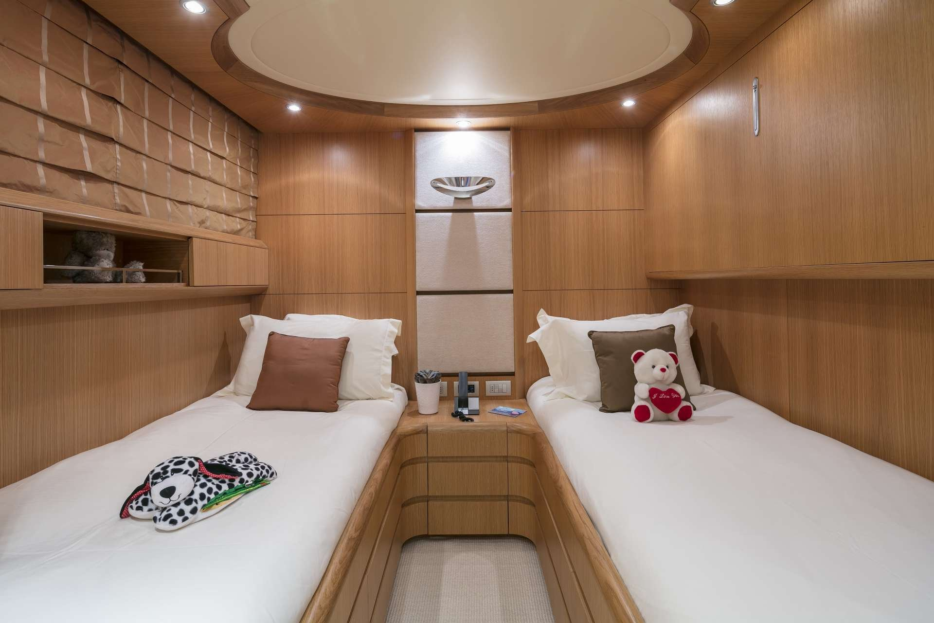 Motor Yacht 'PARIS A' Twin Stateroom, 12 PAX, 6 Crew, 115.00 Ft, 35.06 Meters, Built 2009, Majora, Refit Year 2013