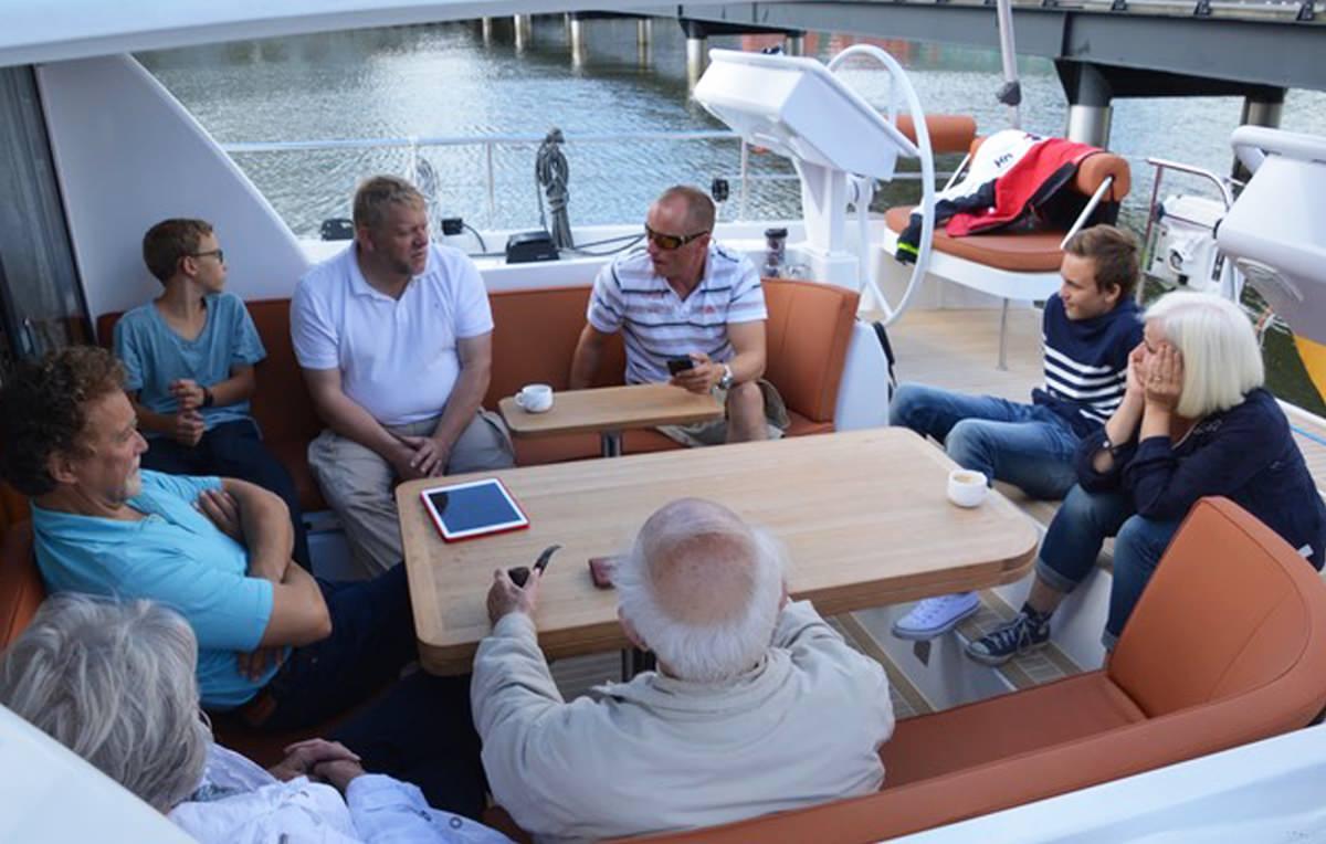 Sailing Yacht 'MOJEKA' Very spacious, comfortable cockpit, 6 PAX, 2 Crew, 56.00 Ft, 17.00 Meters, Built 2014, MOODY