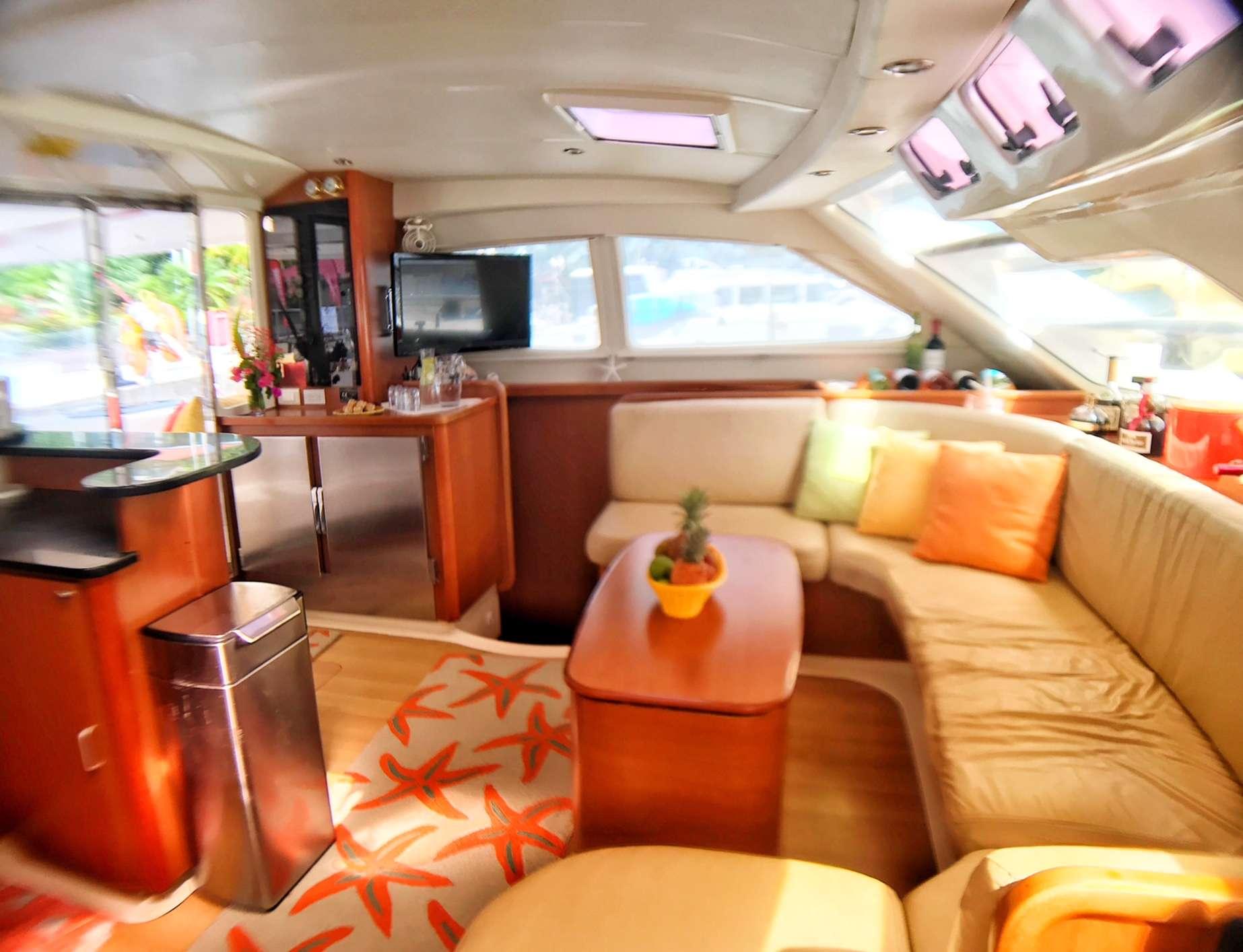Catamaran Yacht 'STARFISH' Bright and airy salon., 6 PAX, 2 Crew, 46.00 Ft, 14.00 Meters, Built 2008, Leopard, Refit Year 2019