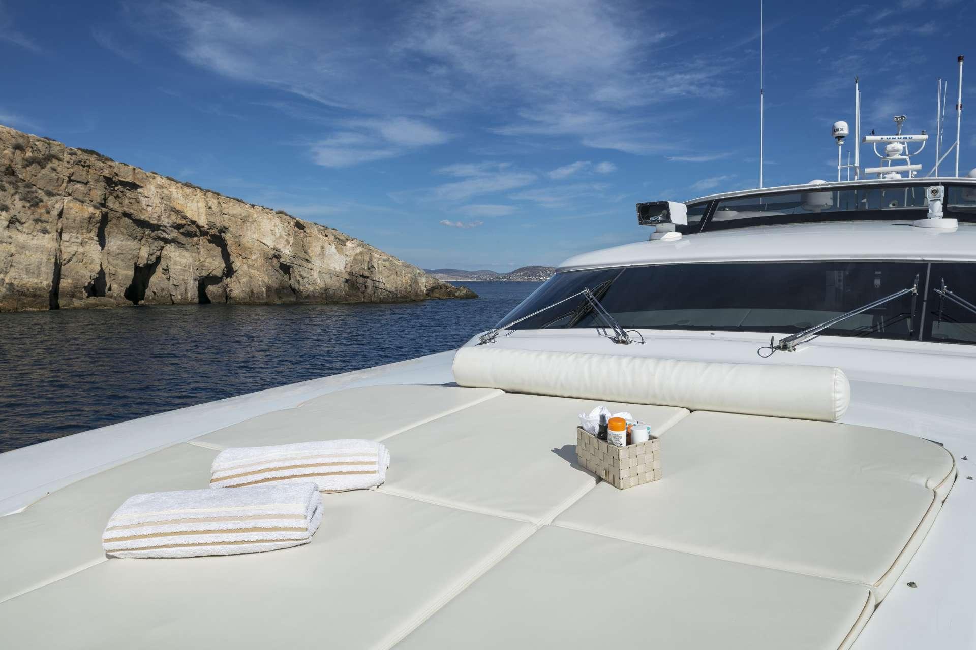Motor Yacht 'PARIS A' Bow area, 12 PAX, 6 Crew, 115.00 Ft, 35.06 Meters, Built 2009, Majora, Refit Year 2013