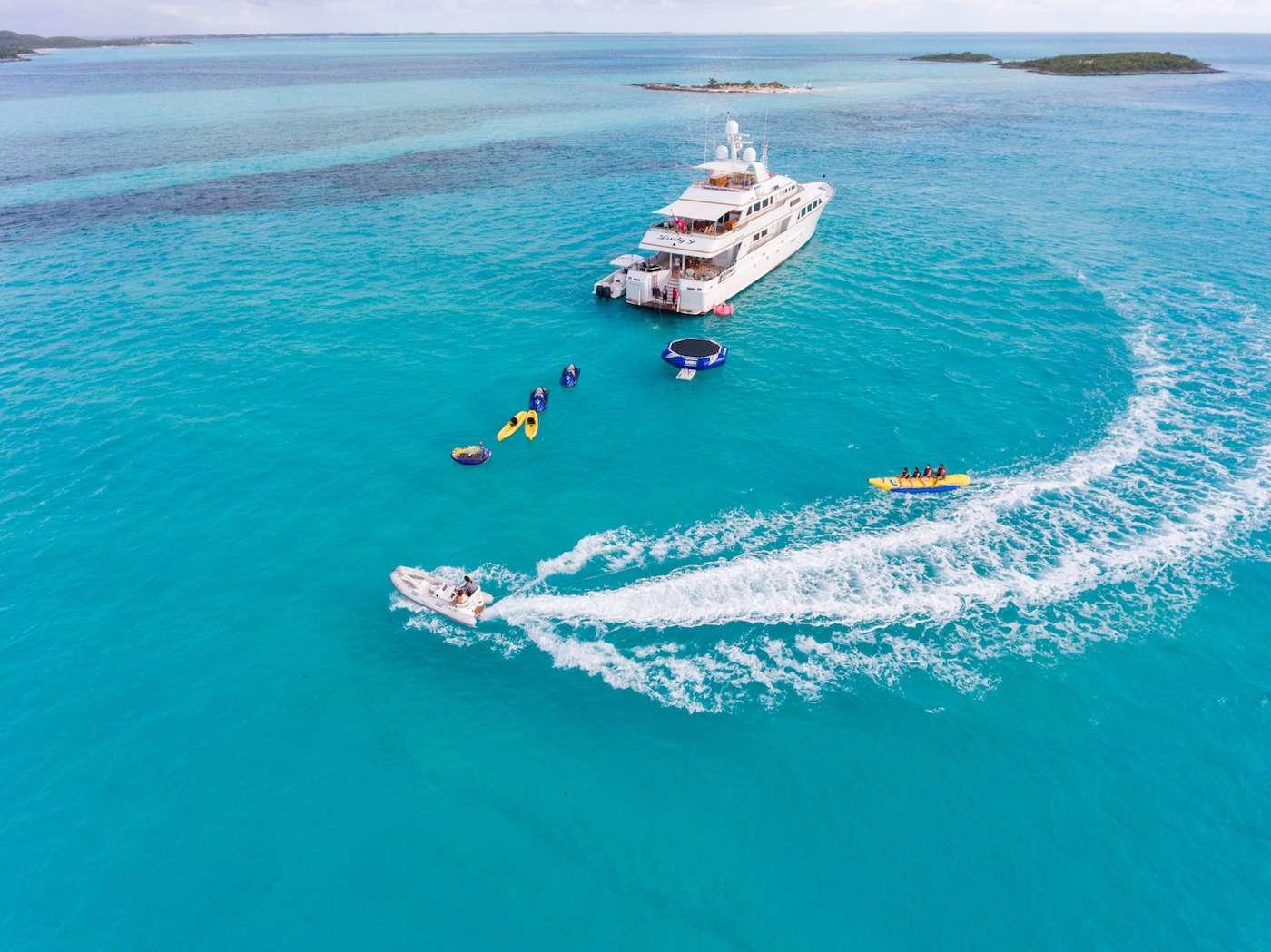 Motor Yacht 'LADY J', 12 PAX, 9 Crew, 142.00 Ft, 43.00 Meters, Built 1997, Palmer Johnson, Refit Year 2017