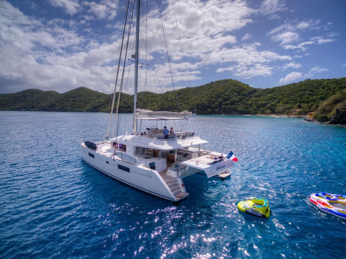 Catamaran Yacht 'ALTESSE' Watersports gear ready to go!, 8 PAX, 2 Crew, 56.00 Ft, 17.00 Meters, Built 2013, Lagoon, Refit Year 2019