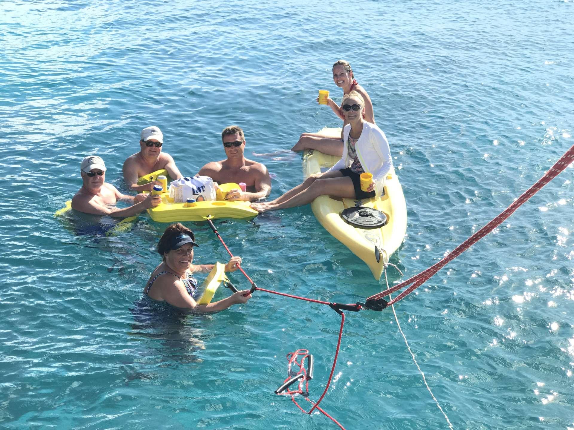 Catamaran Yacht 'STARFISH' Float party!, 6 PAX, 2 Crew, 46.00 Ft, 14.00 Meters, Built 2008, Leopard, Refit Year 2019