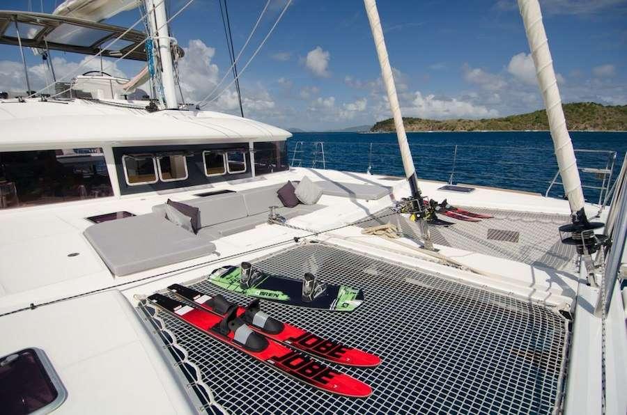 Catamaran Yacht 'ALTESSE' Enjoying the deck space, 8 PAX, 2 Crew, 56.00 Ft, 17.00 Meters, Built 2013, Lagoon, Refit Year 2019
