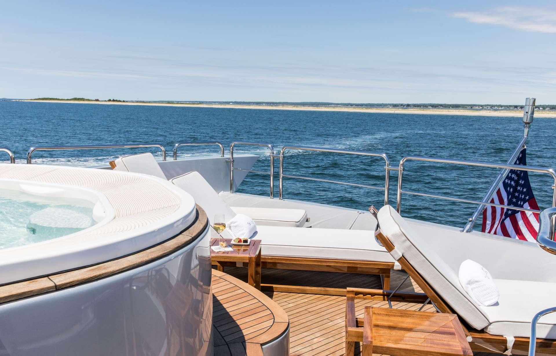 Motor Yacht 'TAIL LIGHTS' Sun loungers Flybridge Aft, 12 PAX, 6 Crew, 116.00 Ft, 35.00 Meters, Built 2011, Azimut, Refit Year 2016