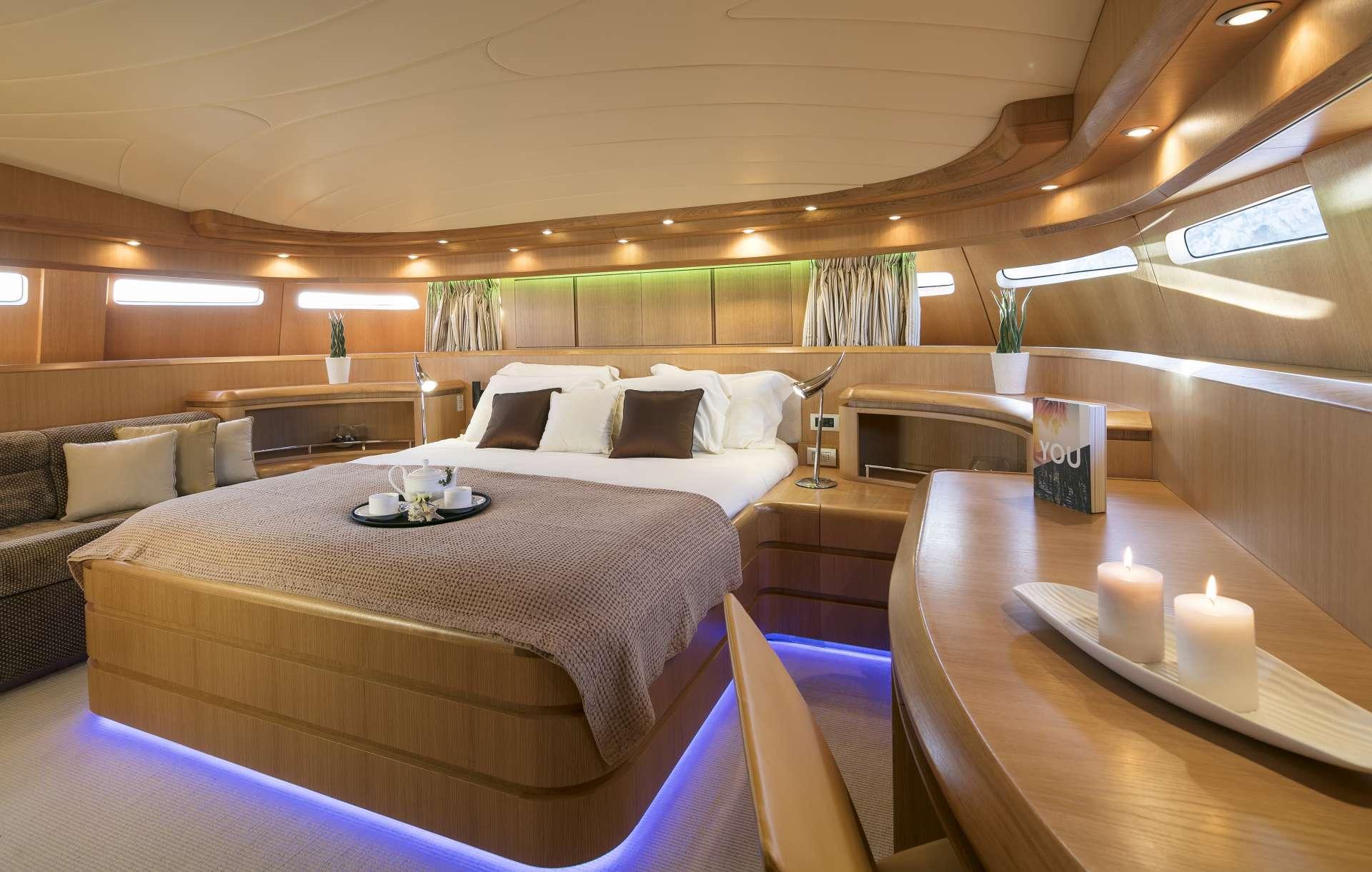 Motor Yacht 'PARIS A' Master Suite, 12 PAX, 6 Crew, 115.00 Ft, 35.06 Meters, Built 2009, Majora, Refit Year 2013