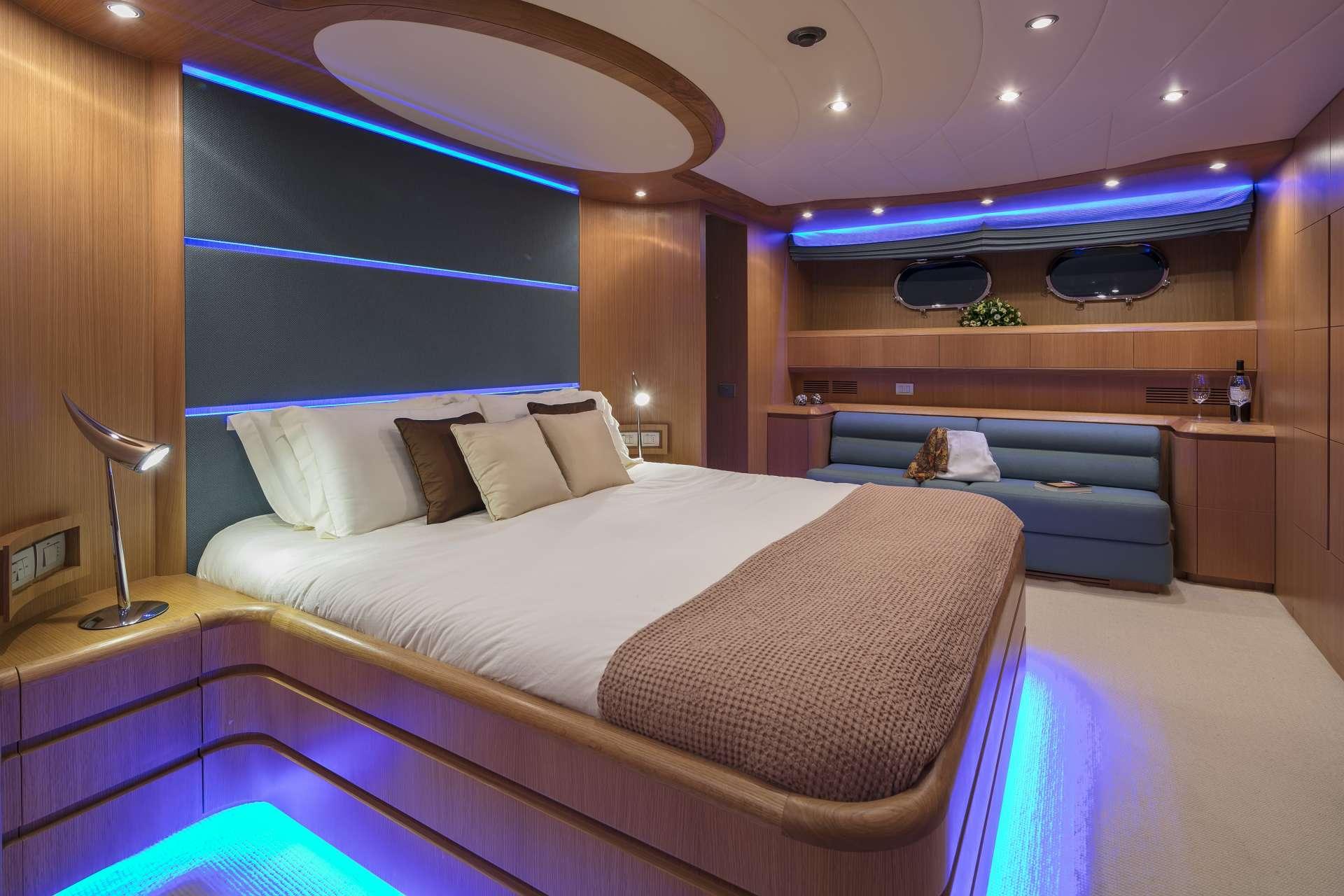 Motor Yacht 'PARIS A' VIP Suite 2, 12 PAX, 6 Crew, 115.00 Ft, 35.06 Meters, Built 2009, Majora, Refit Year 2013