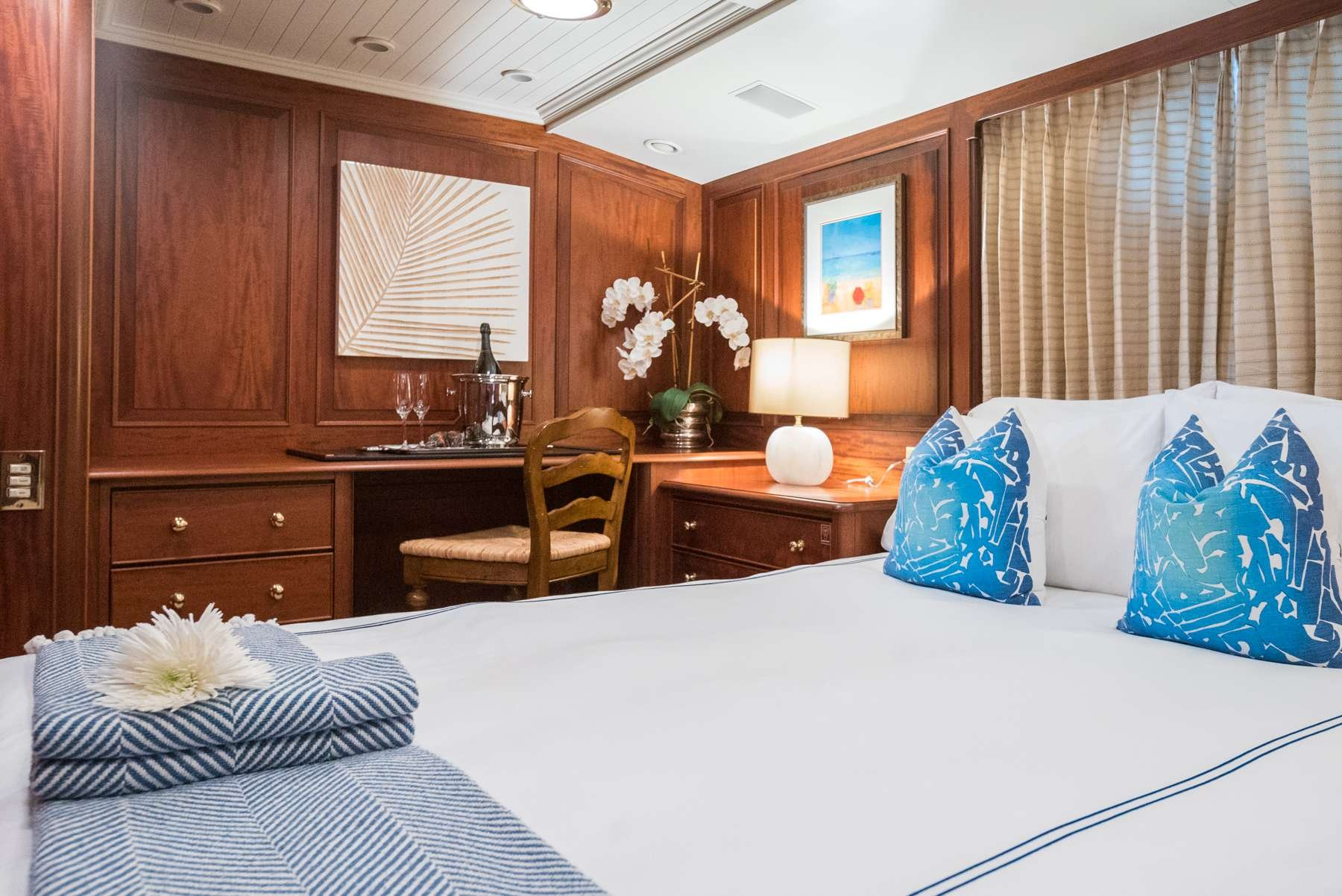 Motor Yacht 'LADY J' Queen Stateroom, 12 PAX, 9 Crew, 142.00 Ft, 43.00 Meters, Built 1997, Palmer Johnson, Refit Year 2017