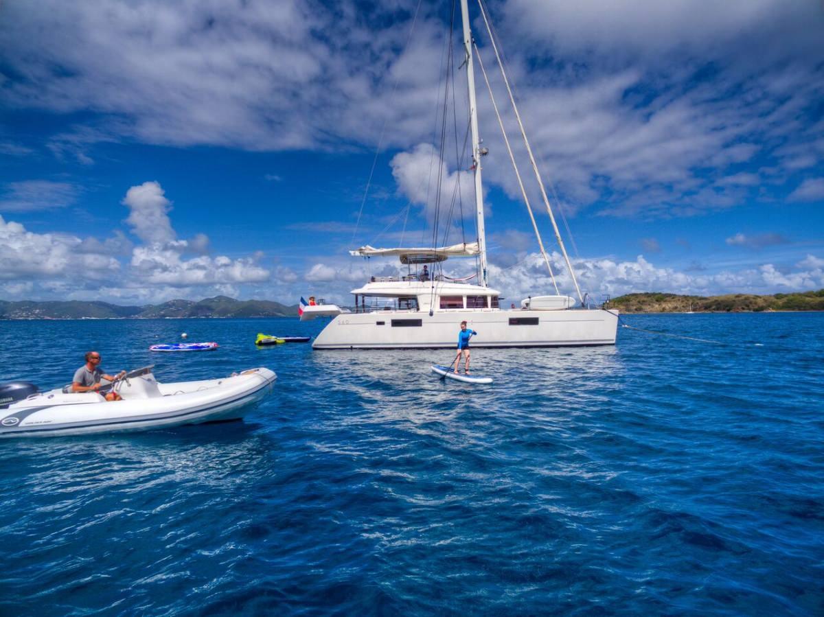 Catamaran Yacht 'ALTESSE' Altesse's powerful tender, 8 PAX, 2 Crew, 56.00 Ft, 17.00 Meters, Built 2013, Lagoon, Refit Year 2019