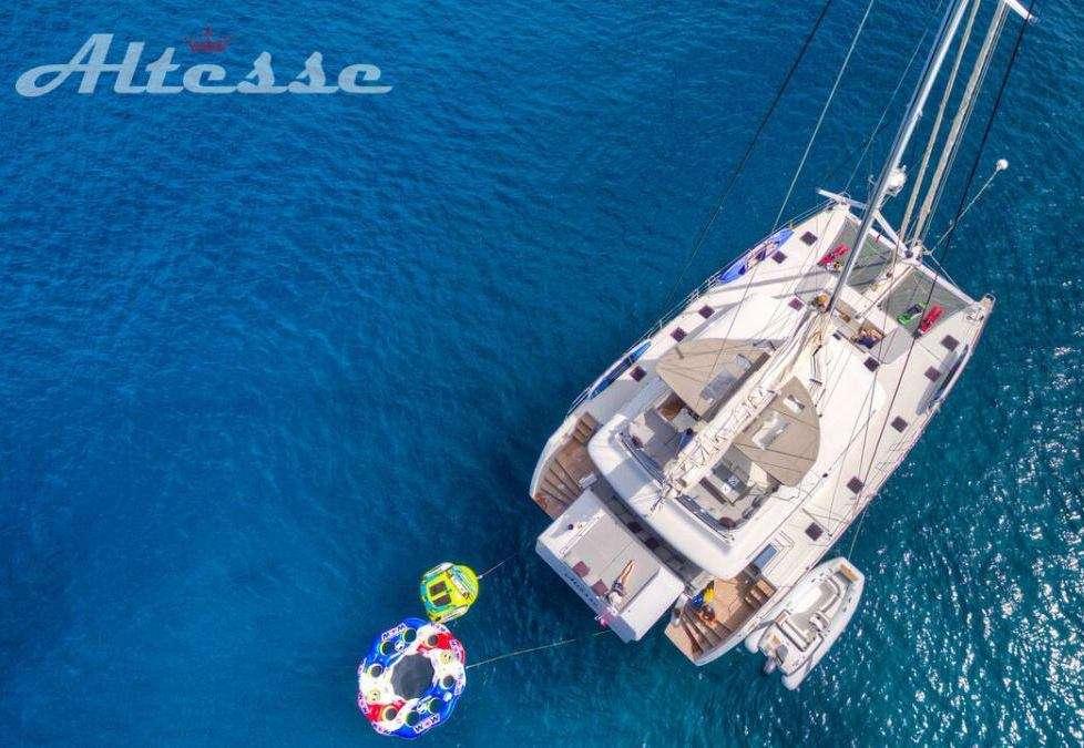 Catamaran Yacht 'ALTESSE', 8 PAX, 2 Crew, 56.00 Ft, 17.00 Meters, Built 2013, Lagoon, Refit Year 2019