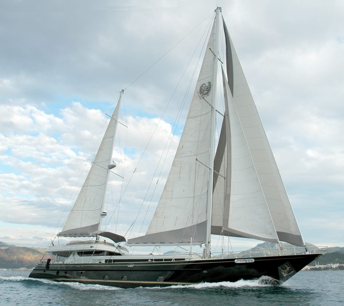 Sailing Yacht 'SUHEYLA', 12 PAX, 6 Crew, 131.00 Ft, 40.00 Meters, Built 1990, Karyat , Refit Year 2009