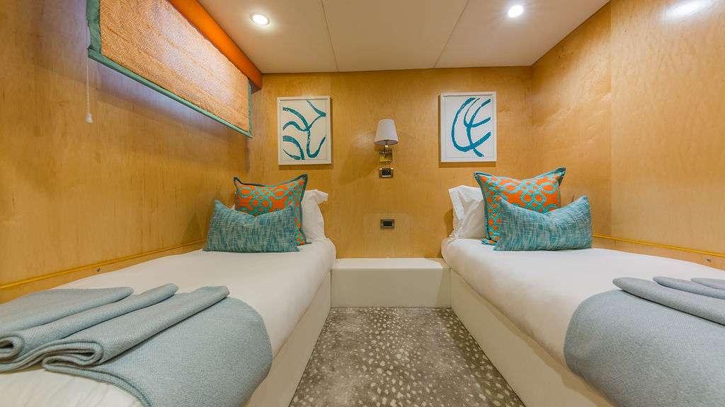 Motor Yacht 'ALEXANDRA JANE' Twin Stateroom 3, 10 PAX, 4 Crew, 110.00 Ft, 33.00 Meters, Built 1995, Broward, Refit Year 2019