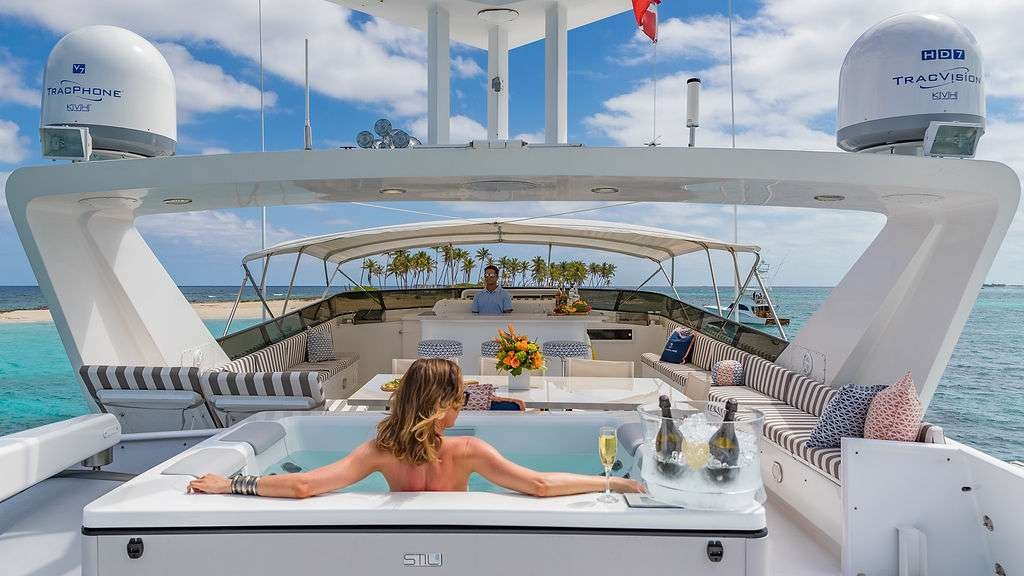 Motor Yacht 'ALEXANDRA JANE' Flybridge / Jacuzzi, 10 PAX, 4 Crew, 110.00 Ft, 33.00 Meters, Built 1995, Broward, Refit Year 2019