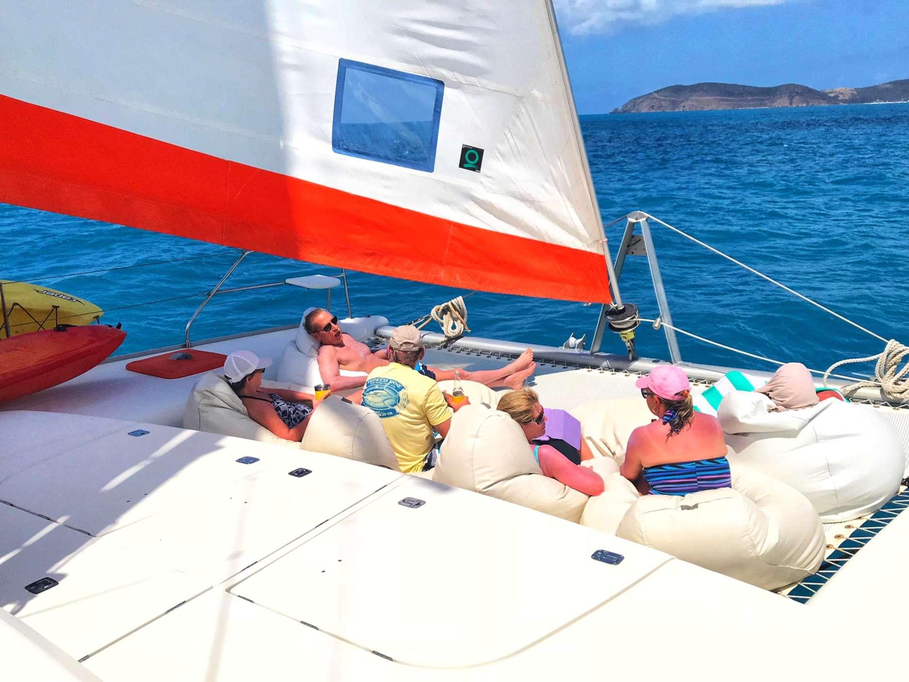 Catamaran Yacht 'STARFISH' Good friends, good times., 6 PAX, 2 Crew, 46.00 Ft, 14.00 Meters, Built 2008, Leopard, Refit Year 2019