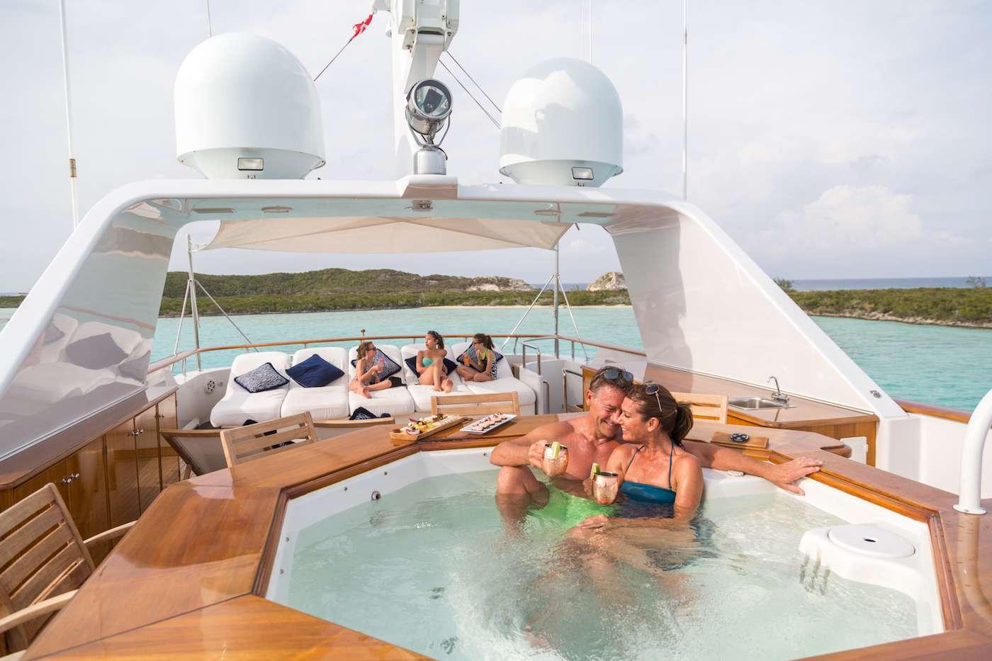 Motor Yacht 'LADY J' Sun Deck, 12 PAX, 9 Crew, 142.00 Ft, 43.00 Meters, Built 1997, Palmer Johnson, Refit Year 2017